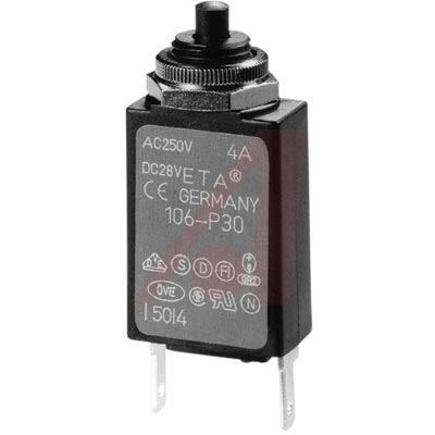 106-M2-P10-0.1A E-T-A Circuit Protection and Control от 7.47000$ за штуку