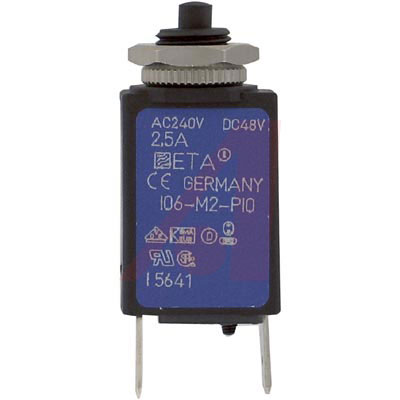 106-M2-P10-2.5A E-T-A Circuit Protection and Control от 10.76400$ за штуку