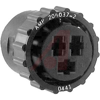 206037-2 Tyco Electronics от 2.84000$ за штуку