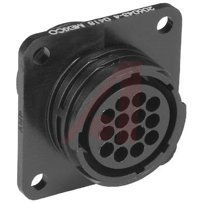 206043-4 Tyco Electronics от 2.23000$ за штуку