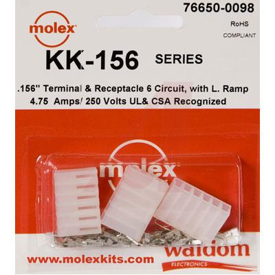 76650-0098 Molex от 2.95700$ за штуку