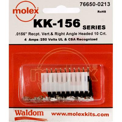 76650-0213 Molex от 4.34100$ за штуку