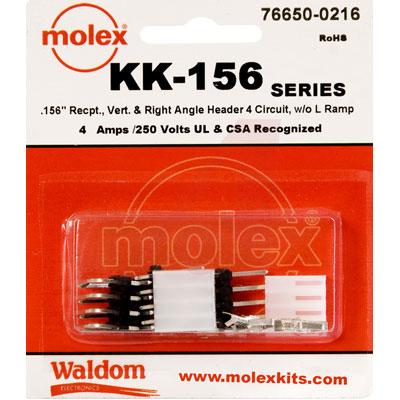 76650-0216 Molex от 2.65300$ за штуку