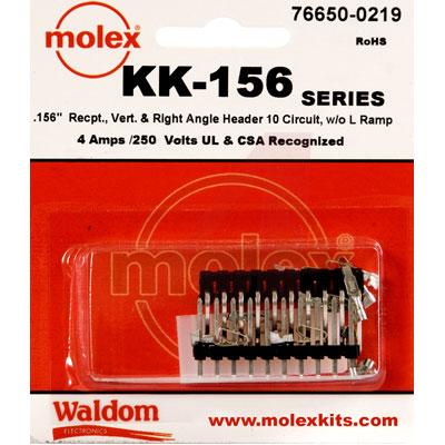 76650-0219 Molex от 3.89300$ за штуку