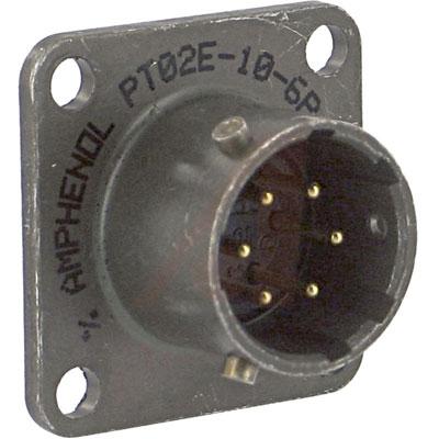 PT02E-10-6P Amphenol от 9.46400$ за штуку